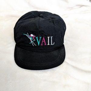 Vintage 90s Vail Colorado Snapback Hat